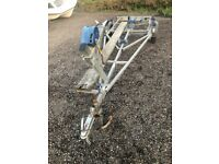 Brenderup Boat Dinghy Rib Trailer suitable for 13/14' Boat
