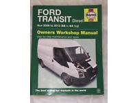 Ford Transit Workshop Manual 2006 -2013 (56-63) Reg