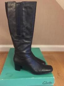 Leather boots (Clarks) size 40