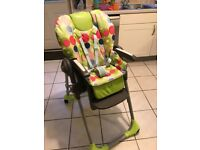 Chicco highchair Excellent condition