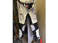 HEIN GERICKE SUMMER MOTORCYCLE TROUSERS. SIZE SMALL. LOVELY LITTLE USED CONDITION. ONO.