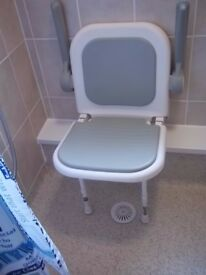 Folding Shower Seat-Excellent Condition
