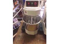 Commercial Spiral Dough Mixer 20L For Bakery Pizzeria Hotel Restaurant Diner Cafe Canteen Kebab Pub
