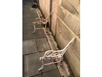 Wrought Iron Small Garden Bench Project