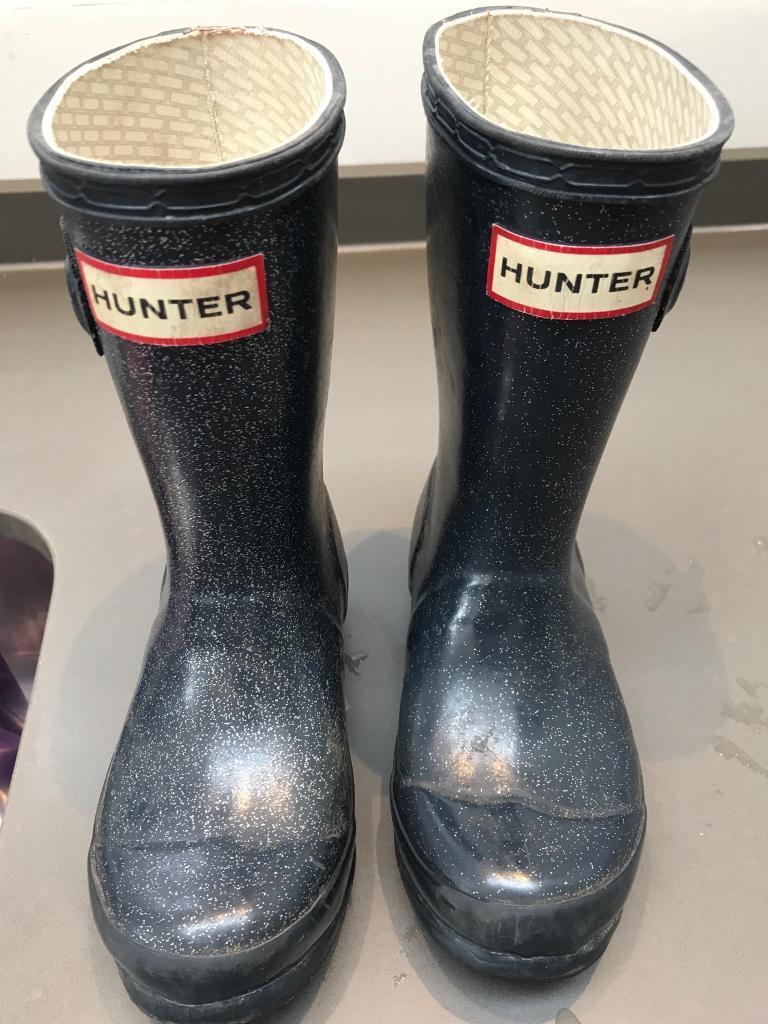 Hunter children boots