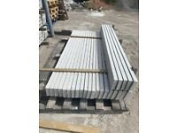 """New~ 6Ft x 6"""" Smooth Reinforced Concrete Fencing Base Panels / Gravel Boards"""