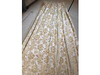 Laura Ashley gold curtains