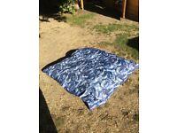 Large bean bag 140cms square