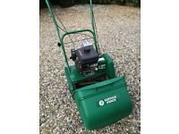 Suffolk Punch 14SK self-propelled lawnmower.