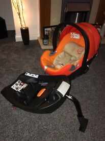Baby car seat Cybex Aton Q plus isofix base