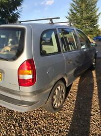 Vauxhall Zafira spares or repairs