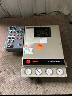 Trane Centravac Cvhe400 Chiller Adaptive Control Cabinet 36613hrs 460v 3ph