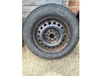 Spare Tyre T4 hub