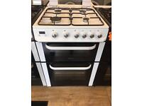 SERVIS 60CM BRAND NEW ALL GAS COOKER IN WHITE WITH LID