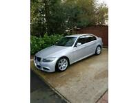 BMW 3 Series 320d M Sport Auto Saloon Silver 2008 68K