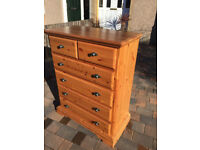 Large Chest of Drawers, feel free to view .£180 Size W 36 in D 20 in H 45 in Free local delivery.