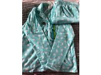 Primark Cat Aqua Pyjama Nightwear