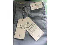 Jack Wills ladies jeans BNWT