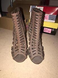 Size 4 Brown Heels