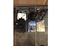 Nintendo Game Cube With 2 Games Memory Card & Controller FULLY WORKING