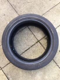 Pair of Bridgestone tyres 204/45/R17 Mx5
