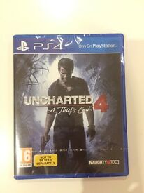 *BRAND NEW* Uncharted 4 PS4 game RRP £34.95