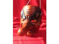 Japanese Tengu Mask for sale.