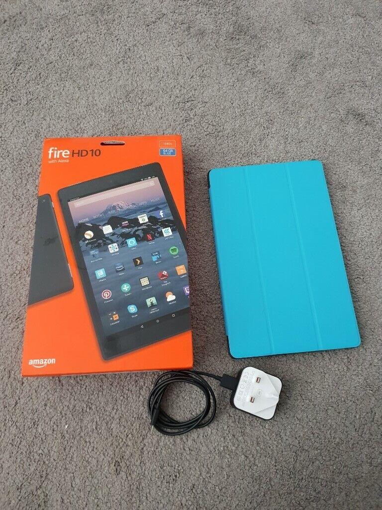 Kindle Fire Tablet 10 inch 64gb 2018 £120 | in Mayfield, Midlothian |  Gumtree
