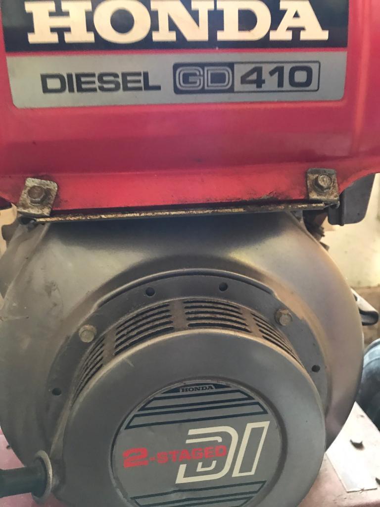 honda diesel generator gd 410 in ramsgate kent gumtree. Black Bedroom Furniture Sets. Home Design Ideas