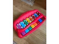 John Lewis baby toddler toy xylophone piano