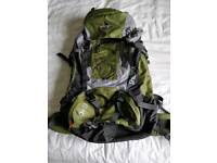 Vango Sherpa rucksack. 60+10L.