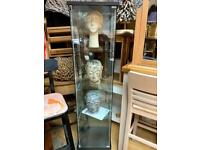 4 shelf glass display unit