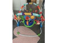 Babys bouncer and chair