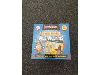 BrainBox Horrible Histories Vile Villains - Brand new and sealed