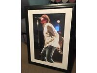 Liam Gallagher Picture In frame