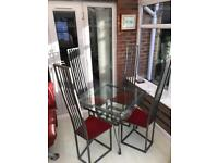 Dining set and chairs