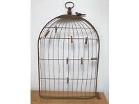 Vintage Birdcage Wedding Table Plan Holder