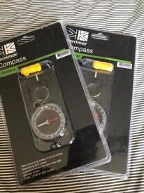 2 karrimor compasses