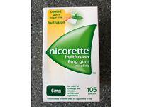 Nicorette Sugar free gum