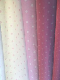 girls next lined curtains