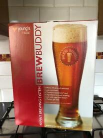 Brew buddy home brew beer kit new
