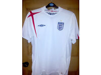 England Home football shirt 2005 - 2007
