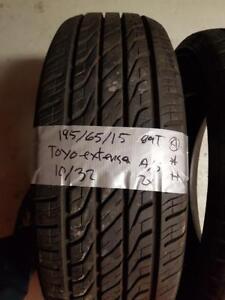 195/65/15 2 pneus été toyo extensa 10/32