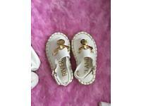 River Island girls sandals size 3