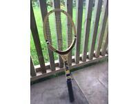 Original Vintage Slazenger Guillermo Vilas tennis racket