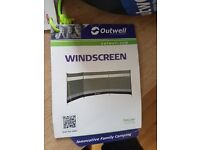 OUTWELL WINDSCREEN - GREEN used once