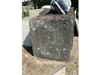 Concrete council slabs 2x2