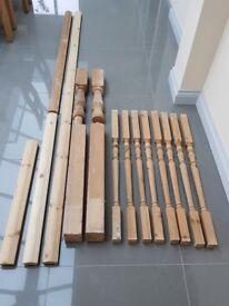Richard Burbidge spindles, posts and hand rails