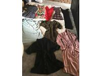 BUNDLE OF LADIES CLOTHES WOMEN'S UK SIZE 6 DRESSES - Used 9 items £14