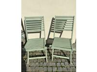 Garden chairs x 4 can be sold separately £15 for all 4